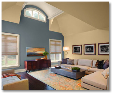 Neutral Paint Colors  Living Room on Living Room Paint Colors For House Painting Tips Exterior   Living
