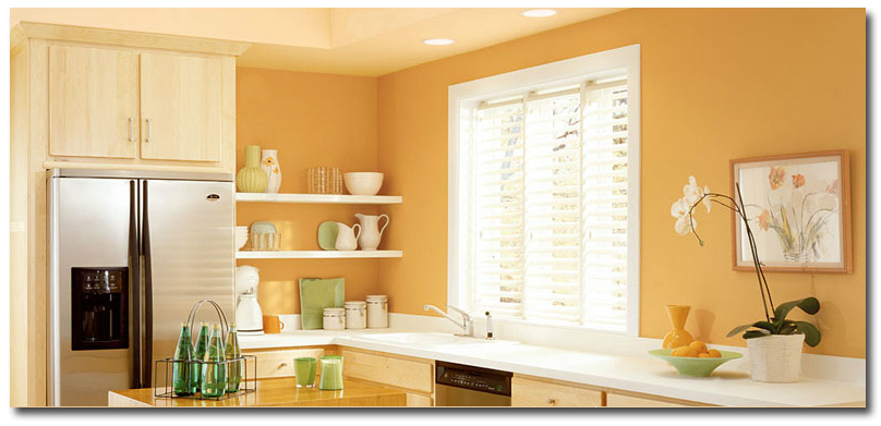 Kitchens Painted With Yam Color