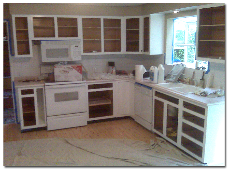 Painting Kitchen Cabinets What S Involved For A Professional