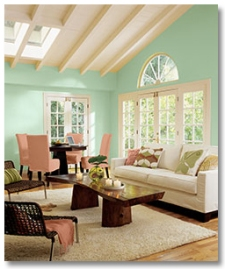 Sherwin-Williams-aloe-living-room